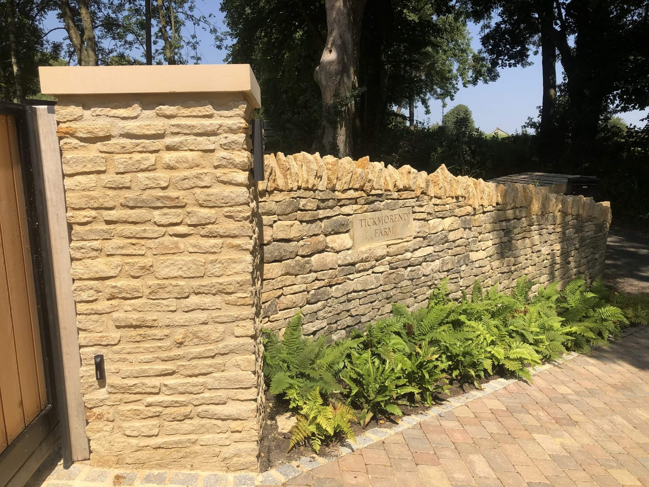 Dry Stone walling Stroud