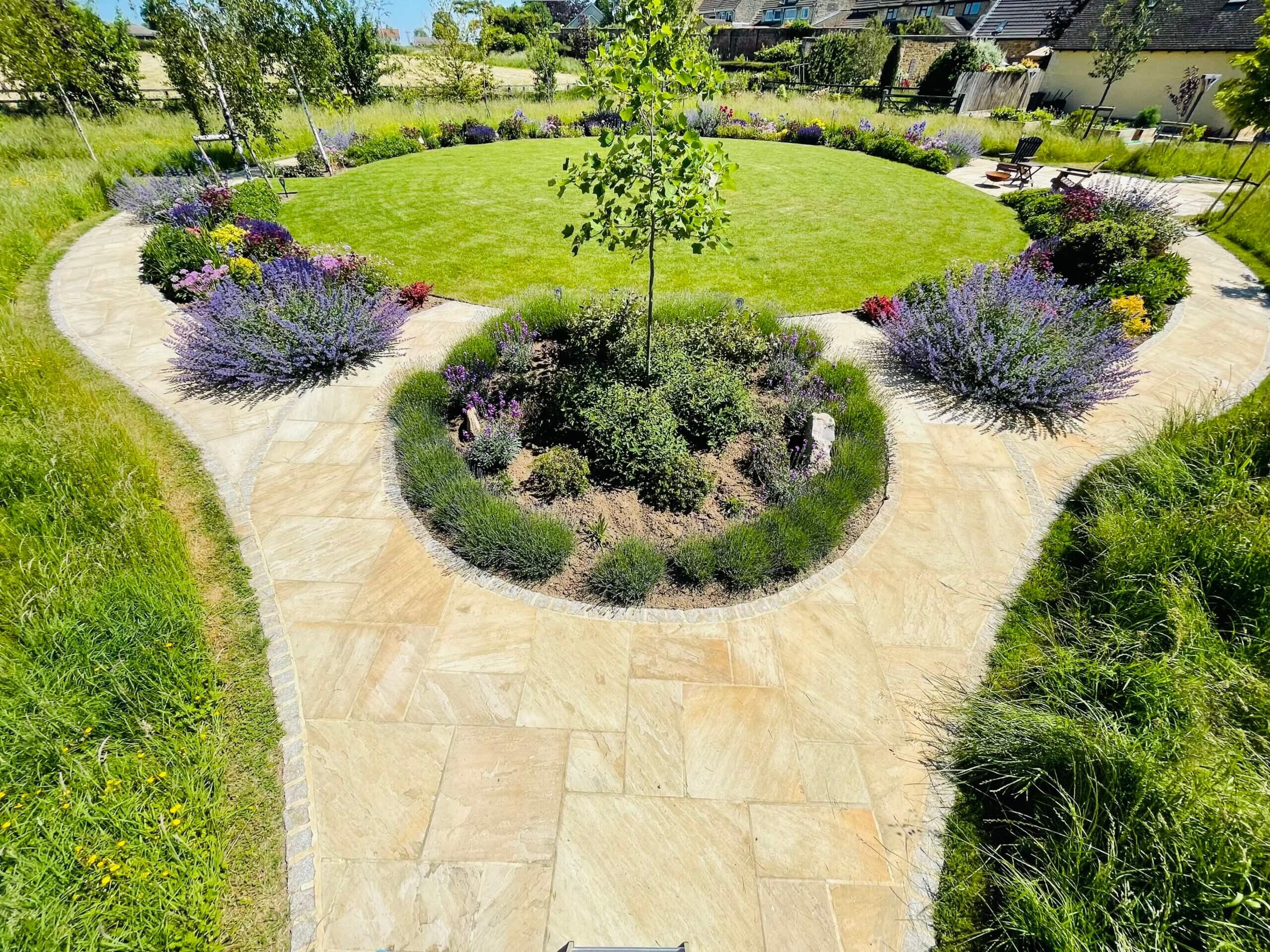 circular planting